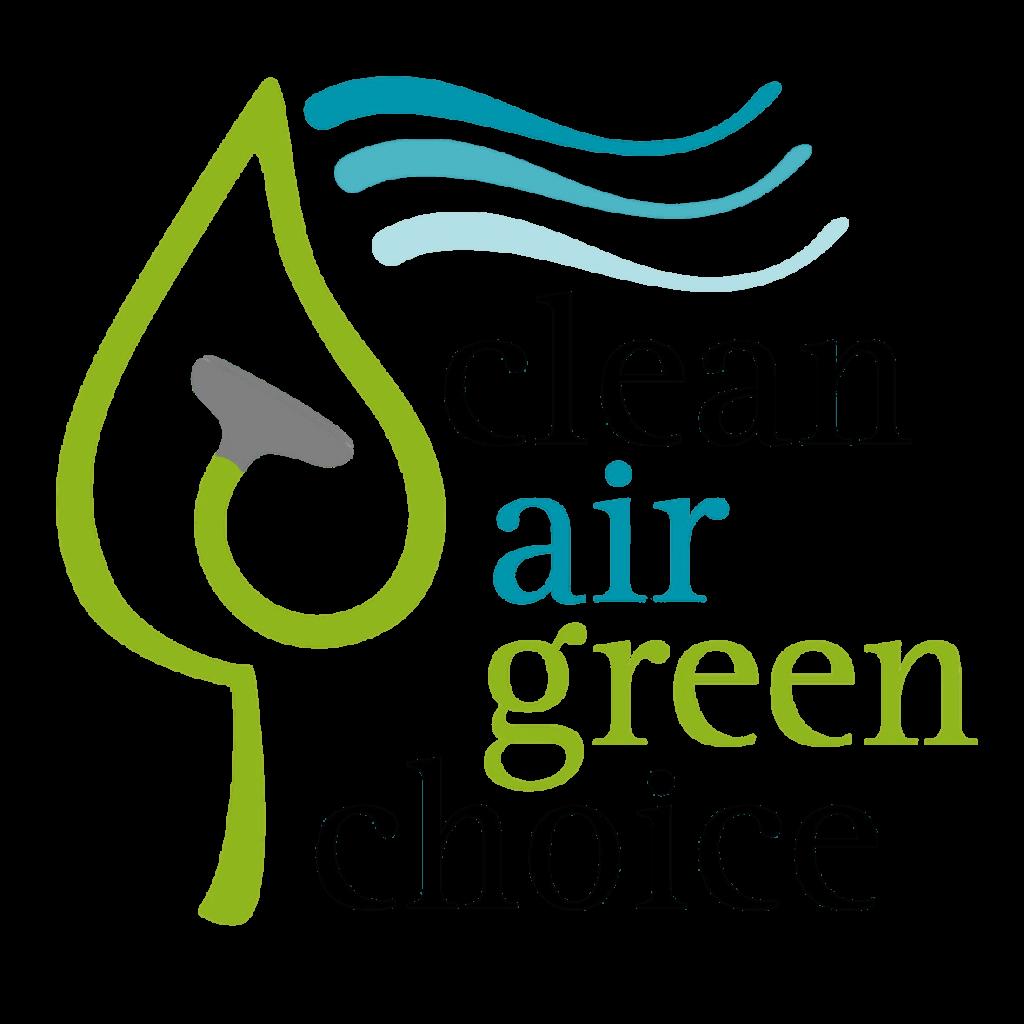 clean air green choice logo